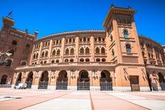 madrid Beroemde stierenvechtenarena in Madrid Toeristische attractio Stock Fotografie