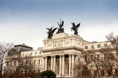 Madrid Building Royalty Free Stock Photos