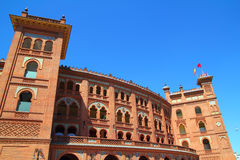 Madrid bullring Las Ventas Plaza toros Royalty Free Stock Photos