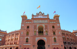 Madrid bullring Las Ventas Plaza toros Royalty Free Stock Photo