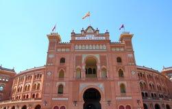 Madrid bullring Las Ventas Plaza toros royalty free stock photo