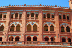 Madrid bullring Las Ventas Plaza toros Royalty Free Stock Photography