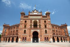 Madrid bullring Plaza de Toros de Las Ventas Royalty Free Stock Photos