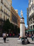 Madrid, Calle Arenal Stock Photos