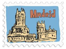 Madrid, capital of Spain Royalty Free Stock Image