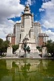 Madrid Center Royalty Free Stock Image