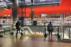Madrid Chamartin station Stock Image