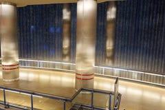 Madrid Chamartin tunnelbana och järnvägsstation royaltyfri foto