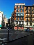 Madrid City Center Stock Photo