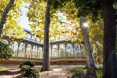 Madrid city in november - shots of Spain Stock Images
