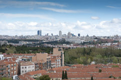 Madrid City Royalty Free Stock Image