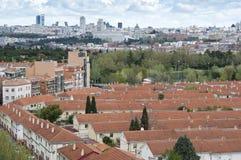 Madrid City Stock Photo
