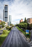 Madrid City. A vision of the buildings of Madrid city Royalty Free Stock Photo