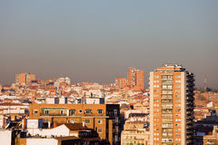 Madrid Cityscape Stock Photos