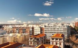 Madrid Cityscape Stock Image