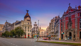 Madrid. Stock Photo