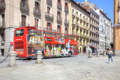Madrid. Cityscape Royalty Free Stock Image