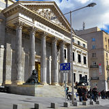 Madrid, Cortes Royalty Free Stock Photos