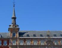 Madrid, de Burgemeester van het Plein Stock Foto
