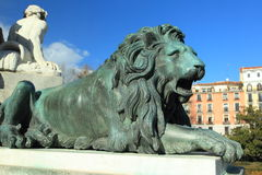 Madrid detail Royalty Free Stock Images
