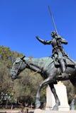 Madrid - Don Quixote Royalty Free Stock Photography