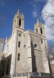 Madrid - East facade and of gothic church San Jeronimo el Real Stock Photography