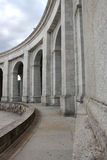 Madrid Escorial arcs Royalty Free Stock Photo