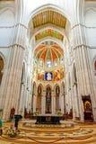 MADRID ESPAÑA - 23 DE JUNIO DE 2015: Catedral de St Mary Imagen de archivo libre de regalías