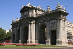 Madrid, Espagne Image stock