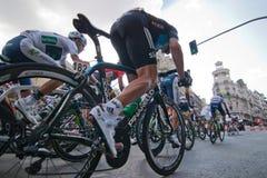 MADRID, ESPAGNE - 9 septembre 2012 : Vuelta 2012. photos libres de droits