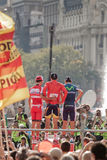 MADRID, ESPAGNE - 9 septembre 2012 : Vuelta 2012 Photo stock