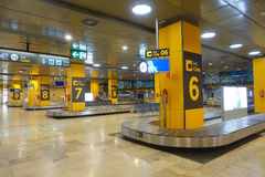 MADRID, ESPAGNE - 18 AOÛT 2017 : Aéroport de Madrid Barajas, aéroport international principal de la capitale de l'Espagne de Madr Photos stock