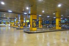 MADRID, ESPAGNE - 18 AOÛT 2017 : Aéroport de Madrid Barajas, aéroport international principal de la capitale de l'Espagne de Madr Images libres de droits