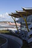 MADRID, ESPAGNE - 16 FÉVRIER : Aéroport de Madrid Barajas, interne principal Photographie stock libre de droits