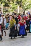 MADRID, ESPAGNE, le 21 octobre 2018 Major Street XXV festival de t photo stock
