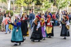 MADRID, ESPAGNE, le 21 octobre 2018 Major Street XXV festival de t photographie stock