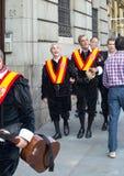 2017 06 01, Madrid, Espagne Un groupe des hommes dans des costumes de festival sur la rue de Madrid Peuple de l'Espagne photo stock