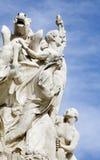 Madrid - estatua del monumento de Alfonso XII en el parque de Buen Retiro Fotografía de archivo libre de regalías