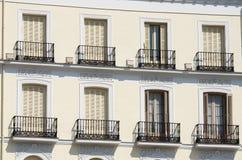 Madrid facade Stock Photos