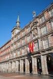 Madrid - Facade of Casa de la panderia from Plaza Mayor Stock Image