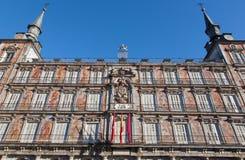 Madrid - Facade of Casa de la Panderia from Plaza Mayor Royalty Free Stock Image