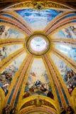 Madrid - Fesco de Basilica de San Francisco el Grande Image stock
