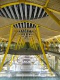 Madrid-Flughafen Stockfotos
