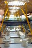 Madrid-Flughafen Spanien Lizenzfreie Stockfotografie