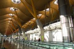 Madrid flygplats royaltyfri fotografi