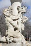 Madrid - fountain in Retiro park Stock Image