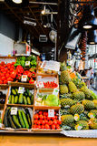 Madrid Frucht und Veg Stockfoto