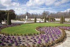 Madrid - gardens of Retiro park Stock Photo