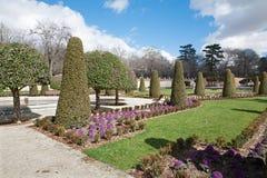 Madrid - gardens of Retiro park Royalty Free Stock Images