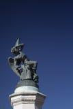 Madrid - gefallenes Engelsdenkmal Stockbilder